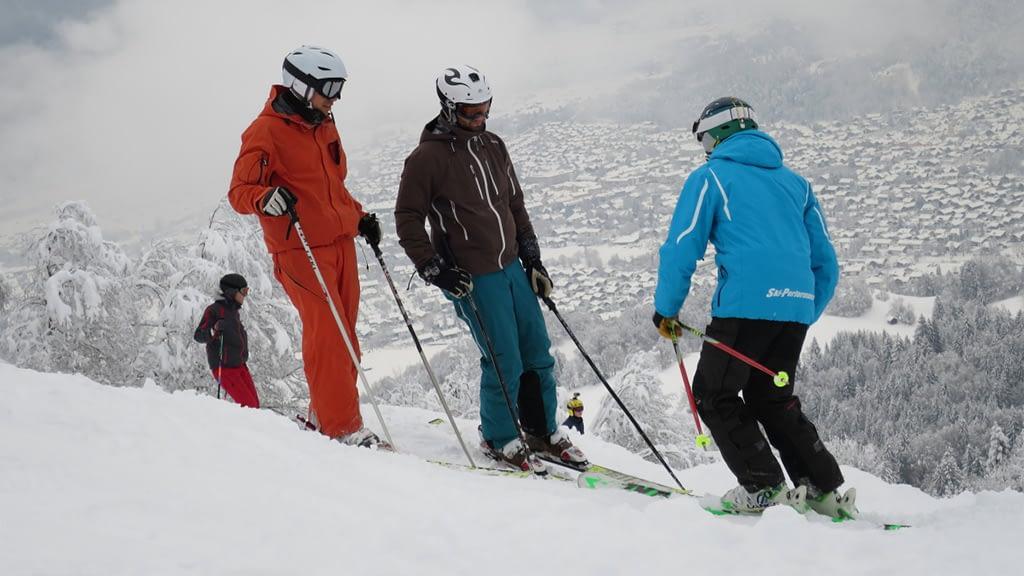 Persönlicher Einzelunterricht am Skihang